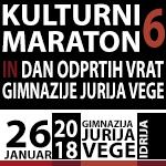 Povzetek dogajanja na Kulturnem maratonu