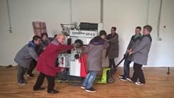 Selitev CNC stroja v novo delavnico
