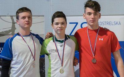 Martin Mihevc državni prvak v lokostrelstvu
