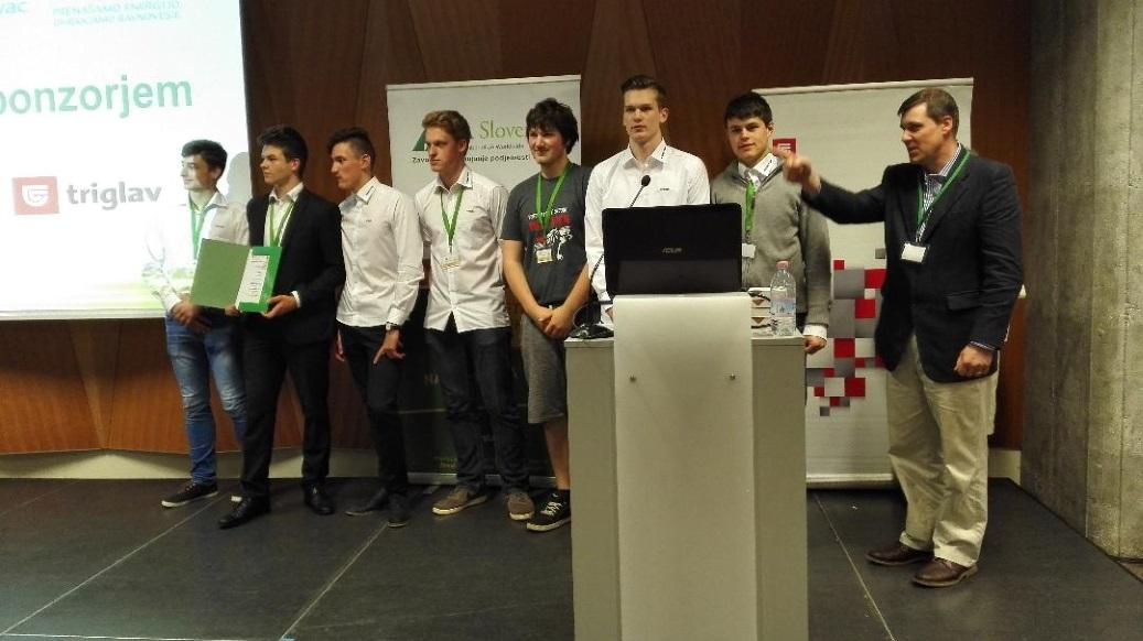 Uspeh na Sejmu dijaških podjetij