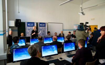 Slovesna otvoritev nove računalniške učilnice