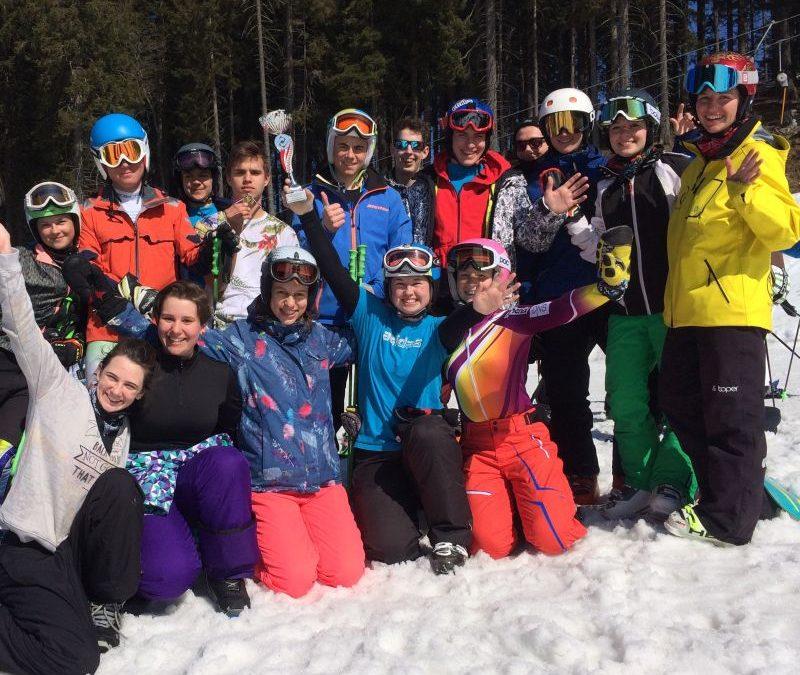 Naši dijaki uspešni na državnem tekmovanju v alpskem smučanju in deskanju