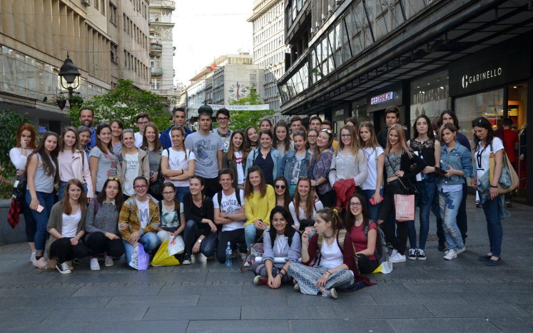 Mednarodna izmenjava z valjevsko gimnazijo