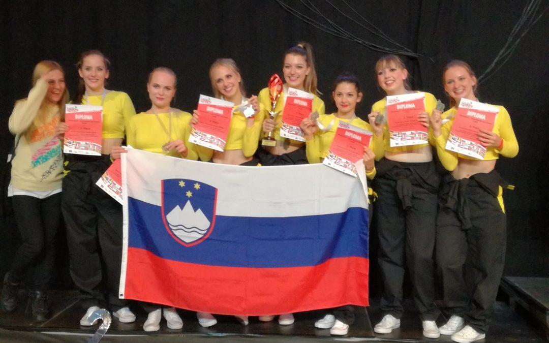 Velik uspeh naših plesalk na svetovnem prvenstvu
