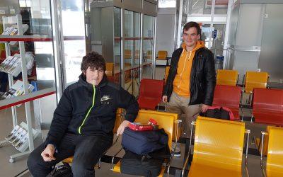 Trije dijaki 3. letnika strojnih tehnikov v Nemčiji
