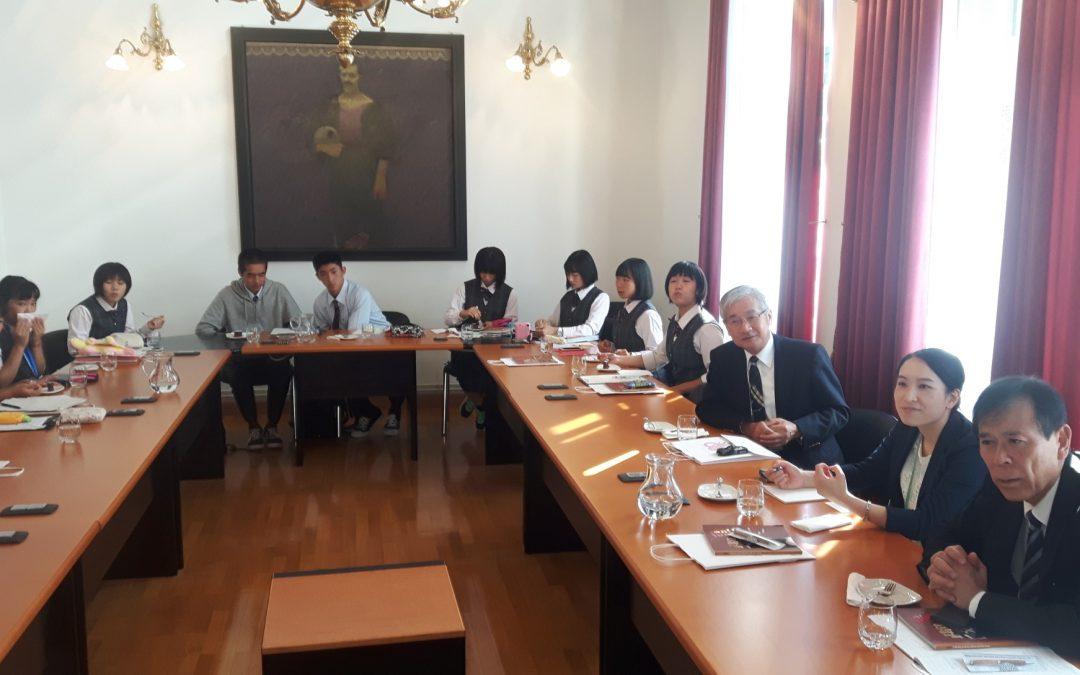 Obisk japonskih dijakov