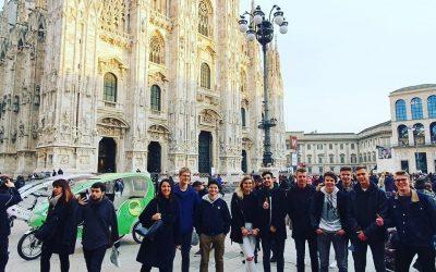 Sodelovanje naših dijakov na heckatonu v Milanu