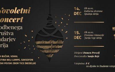Novoletni koncert Godbenega društva rudarjev Idrija