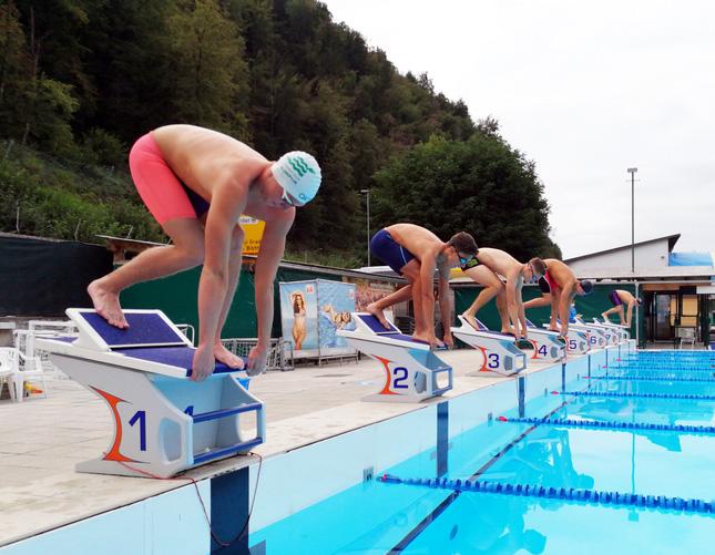 Uspehi naših plavalcev
