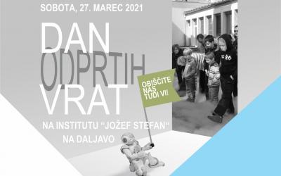 Dan odprtih vrat Instituta Jožef Štefan