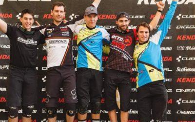 Miha Smrdel prvi na kolesarskem tekmovanju Sloenduro